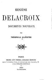 Eugène Delacroix: documents nouveaux