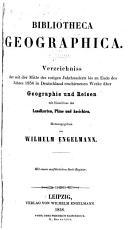 Biblioteca geographica PDF