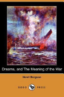 Dreams  and the Meaning of the War PDF