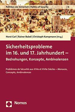 Sicherheitsprobleme im 16  und 17  Jahrhundert PDF