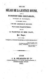Oeuvres posthumes du comte Joseph de Maistre: Volume3