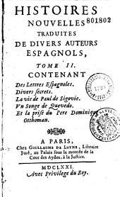 Histoires nouvelles traduites de divers auteurs espagnols [Trad. par C. D. L.]