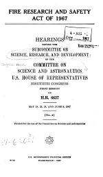 Fire Research and Safety Act of 1967