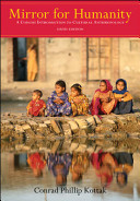 Mirror For Humanity A Concise Introduction To Cultural Anthropology Book PDF