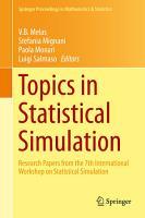 Topics in Statistical Simulation PDF