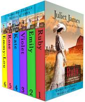 Brides of 1884: Come By Chance Mail Order Bride Box-Set