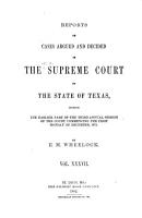 The Texas Reports PDF