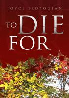To Die For PDF
