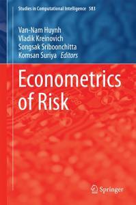 Econometrics of Risk