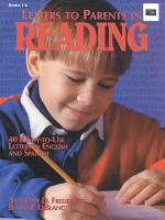 Letters to Parents in Reading PDF