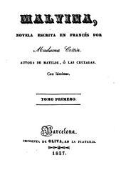Malvina: novela escrita en francés