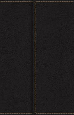 KJV  Deluxe Reference Bible  Compact  Large Print  Imitation Leather  Black  Red Letter Edition