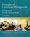 Principles of Classroom Management PDF
