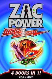 Zac Power Mega Missions: 4 Books In 1