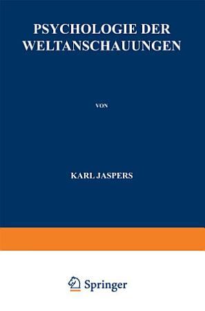 Psychologie der Weltanschauungen PDF