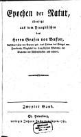 Epochen der Natur PDF