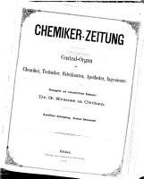 Chemiker Zeitung PDF