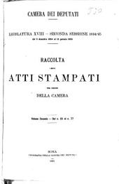 Atti parlamentari: Volume 2