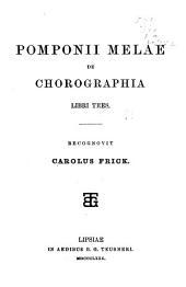 De chorographia libri tres