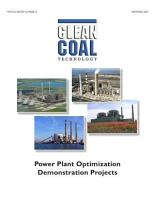 Power Plant Optimization Demonstration Projects PDF