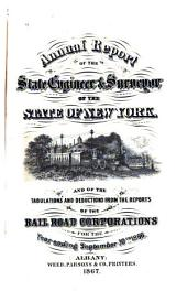Report of the State Engineer and Surveyor on the Railroads of the State of New York