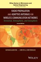 Radio Propagation and Adaptive Antennas for Wireless Communication Networks PDF