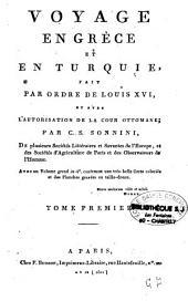 Voyage en Grèce et en Turquie fait par ordre de Louis XVI