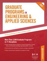 Graduate Programs in Engineering   Applied Sciences 2011  Grad 5  PDF