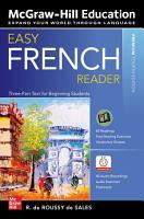 Easy French Reader  Premium Fourth Edition PDF
