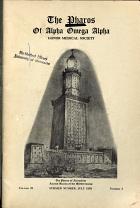 The Pharos of Alpha Omega Alpha Honor Medical Society