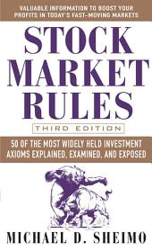 Stock Market Rules: Edition 3