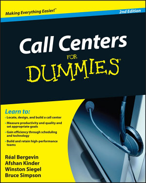 Call Centers For Dummies PDF