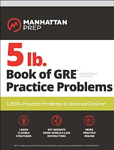5 lb  Book of GRE Practice Problems Book