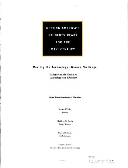 Getting America s Students Ready for the 21st Century PDF