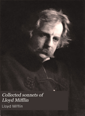 Collected sonnets of Lloyd Mifflin