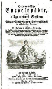 Oeconomische Encyclopädie oder Allgemeines System der Land-, Haus- und Staats-Wirthschaft: in alphabetischer Ordnung, Band 12