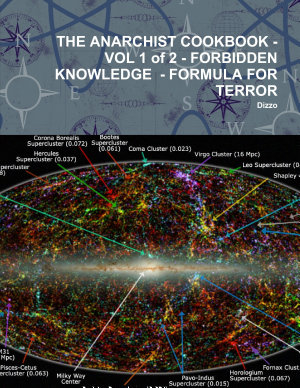 THE ANARCHIST COOKBOOK   VOL 1 of 2   FORBIDDEN KNOWLEDGE   FORMULA FOR TERROR