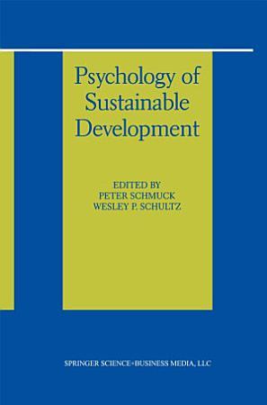 Psychology of Sustainable Development PDF