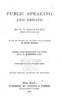 Public Speaking and Debate PDF