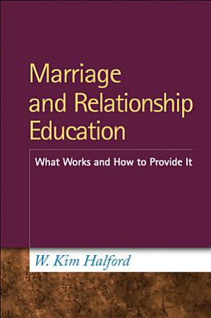 Marriage and Relationship Education PDF
