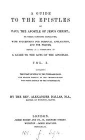 A guide to the epistles of Paul the Apostle
