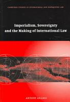 Imperialism  Sovereignty and the Making of International Law PDF