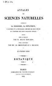 Annales des sciences naturelles: Botanique, Volume1