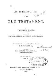 An Introduction to the Old Testament: Volume 2