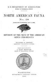 Revision of the Mice of the American Genus Peromyscus: Issues 28-31