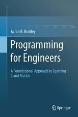 Programming for Engineers PDF