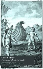 Ossian, fils de Fingal, barde du 3e siècle: poésies galliques, Volume1