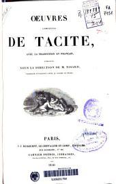 Oeuvres complètes de Tacite: avec la traduction en français