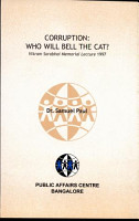 Corruption  Who Will Bell the Cat  PDF