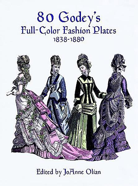 Download 80 Godey s Full Color Fashion Plates Book